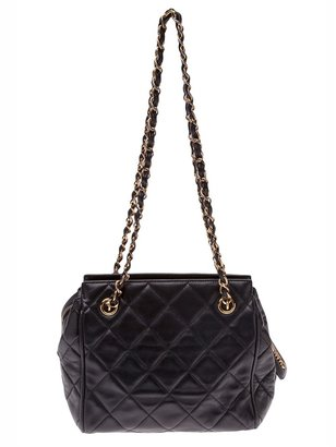 Chanel quilted day bag