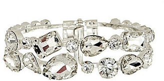 Cezanne Crystal Hinge Bangle Bracelet