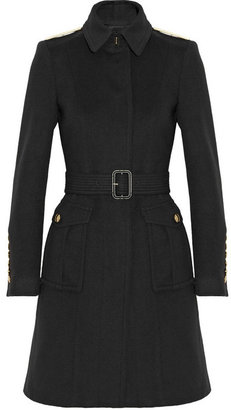 Burberry Wool and cashmere-blend coat