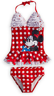 Disney Minnie Mouse Deluxe Swimsuit for Girls