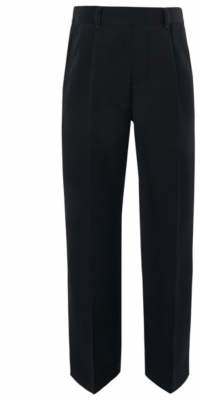 CAT George Boys Navy Plus Fit Half Elasticated School Trousers