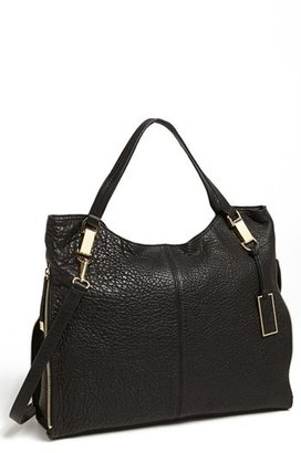 Vince Camuto 'Riley' Leather Tote - Black $278 thestylecure.com