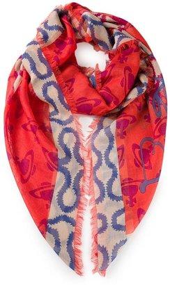 Vivienne Westwood squiggle scarf