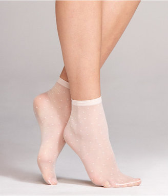 Express Sheer Dot Ankle Sock