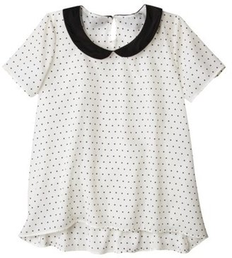 Pur Pure Energy Women's Plus-Size Short-Sleeve Blouse - Off-White