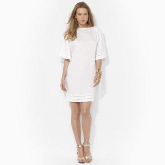 Ralph Lauren Linen Boatneck Dress
