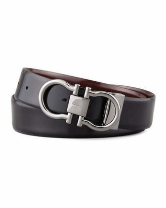 Salvatore Ferragamo Reversible Gancini Belt $360 thestylecure.com