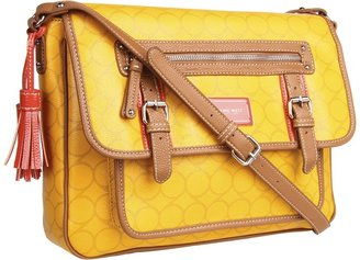 Nine West Nines Printed Messenger (Yellow Combo) - Bags and Luggage