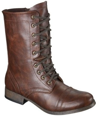 Msc Women's Mossimo Supply Co. Kody Combat Boot - Cognac