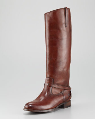 Frye Lindsay Leather Plate Boot