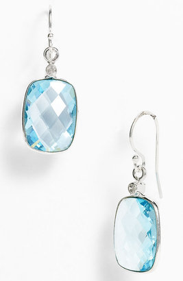 Nunu Designs Rectangular Drop Earrings