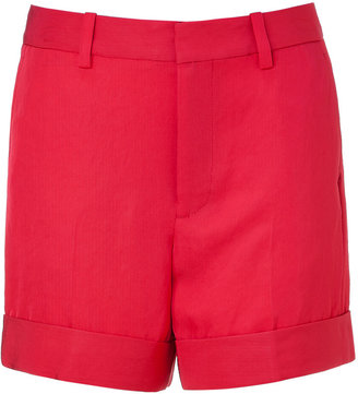 Marc by Marc Jacobs Convertible red twill shorts