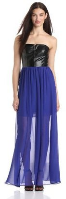 Adrianna Papell Women's Strapless Gown