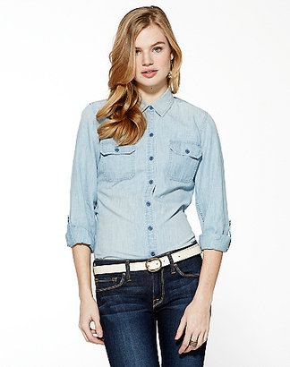 Lucky Brand Brooke Chambray Shirt