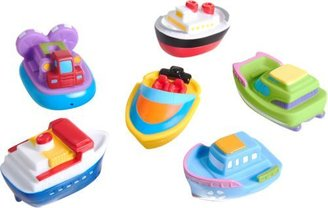 Elegant Baby Boat Party Squirtie Set-Multi