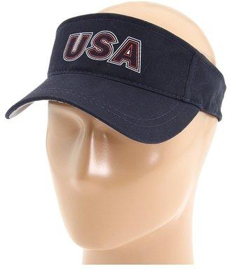Speedo Team USA Visor (Navy) - Hats