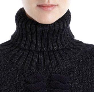 Fendi Cap Sleeve Sweater Dress