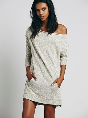 Free People Slouchy Cowl Mini Dress