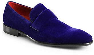 HUGO BOSS Evelt Velvet Loafers