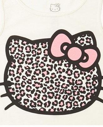 Hello Kitty FOREVER 21 girls Leopard Tank (Kids)
