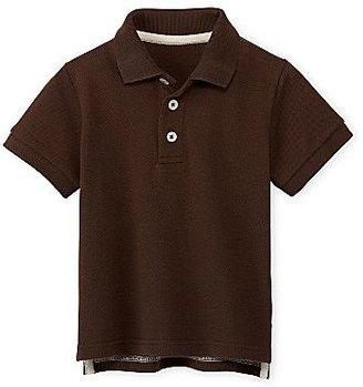 Arizona Basic Solid Polo Shirt - Boys 2t-5t