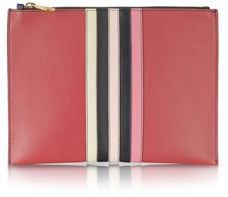 Sonia Rykiel Lucien Small Leather Zipped Pouch