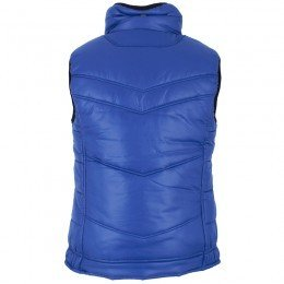 Diesel Branded Blue and Red Puffer Vest