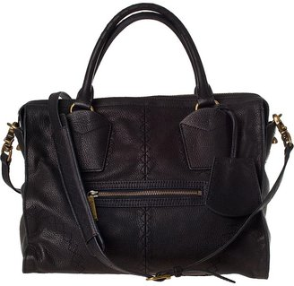 Botkier HANDBAGS Jackson Satchel Black Leather