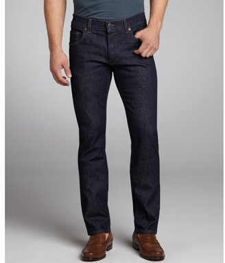 Prada indigo stretch denim straight leg jeans