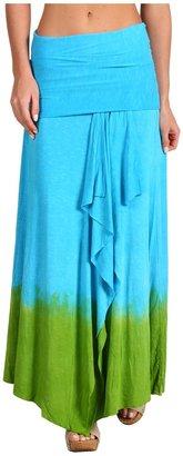 Lucky Brand World Beat Skirt (Blue Moon) - Apparel