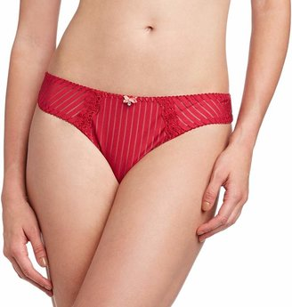 Curvy Kate Women's Ritzy Thong Red (Ruby/Spice) Size 8