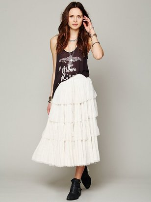 Free People Amy Tiered Skirt