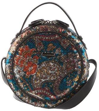 Carven Round sequin bag