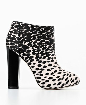 Kes Marlee Spotted Haircalf Booties
