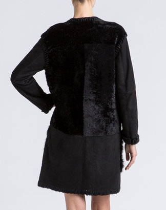 Lanvin Shearling Coat