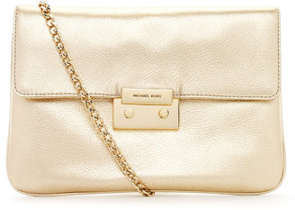 MICHAEL Michael Kors Sloan Clutch, Pale Gold