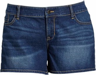 "Old Navy Women's Plus Distressed-Denim Shorts (3-1/2"")"