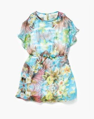 Lucky Brand Rebecca Cold Shoulder Dress