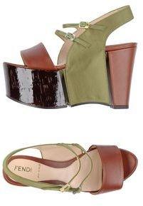 Fendi Wedges