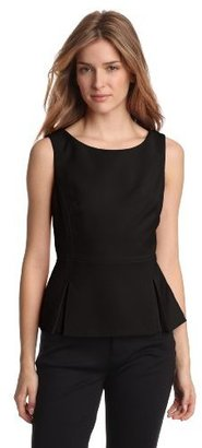 Anne Klein Women's Peplum Shell