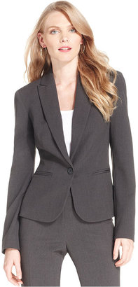 Anne Klein Blazer, Button-Front Jacket