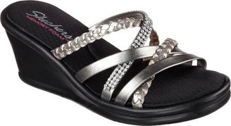 Skechers Cali Women's Rumblers-Social Butterfly Wedge Sandal $27.53 thestylecure.com