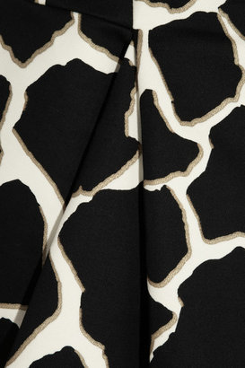 Roberto Cavalli Gaia printed cotton mini dress