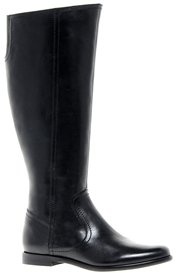 Asos CHEETAH Leather Knee Boots