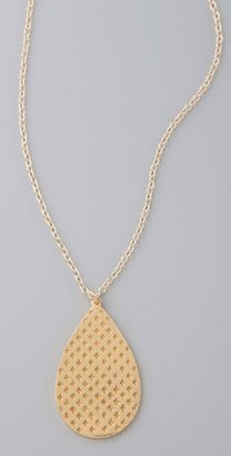 Gorjana Oxford Teardrop Necklace