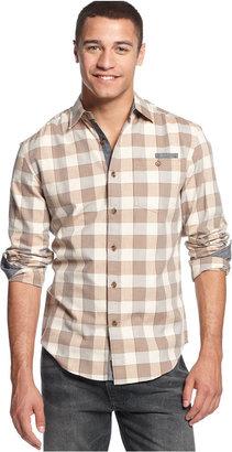 Sean John Big & Tall Long Sleeve Check Shirt