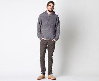 The Elder Statesman Hooded Sweater