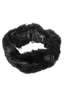 Quiz Black Faux Fur Head Band