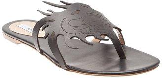 Alexa Wagner 'Urma' dragon flip flops