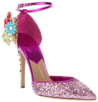 DSquared Dsquared2 Studded glitter embellished pump